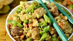Cauliflower Fried Rice         |          Date A Cake
