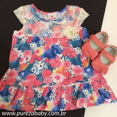 Para as pequenas arrasarem, selecionados ofertas de vestidinhos 😍para as mamães!   ✏️ Vestido renda R$ 39,90 www.purezababy.com.br/vestido-brandili-renda-com-flores   #esquentablackfriday #novembrooff