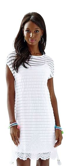 LILLY PULITZER Women's Adria Dress in Turtle Bay Knit Mesh Stripe (X-Small)