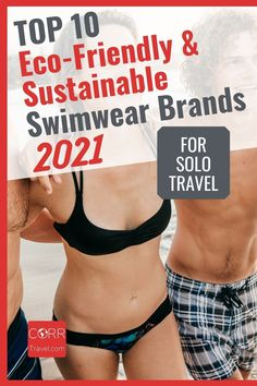 Choose sustainable travel products with any of these 10 best eco-friendly swimwear and sustainable swimwear brands for sustainable solo travel. Make great #TravelGiftIdeas! By @corrtravel #CORRTravel #TravelGifts #EcoFriendlyGifts Solo Travel Tips | Solo Female Travel Tips | Eco Friendly Travel Products | Sustainable Travel Products | Travel Products | Eco Friendly Travel Tips | Sustainable Travel Tips Solo Travel Tips, International Travel Tips, Travel Products, Swimwear Brands, Travel Design, Travel And Tourism, Travel Aesthetic, Trip Planning, Sustainability