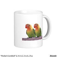 """Fischer's Lovebird"" Classic White Coffee Mug"