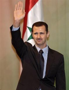 """Under the terms of the agreement, #Syria must submit to the international community within one week a ""comprehensive listing"" of its stockpile. ...""  Syrian President Bashar al-Assad"