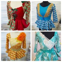 Collection of the most beautiful and stylish ankara peplum tops of 2018 every lady must have. See these latest stylish ankara peplum tops that'll make you stun African Print Dresses, African Print Fashion, African Fashion Dresses, African Dress, Ankara Fashion, African Fabric, African Blouses, African Tops, African Women