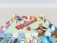 You know the memory palace method for memorization? We brought it to VR, remembering US states using a Monopoly board.