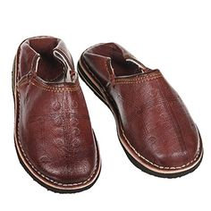 Marokkanischer Lederschuh Babouches unisex Pantoffel Tafrout mocca Gr.37-46 orientalische Schuhe - http://on-line-kaufen.de/albena-marokko-galerie/marokkanischer-lederschuh-babouches-unisex-gr-8