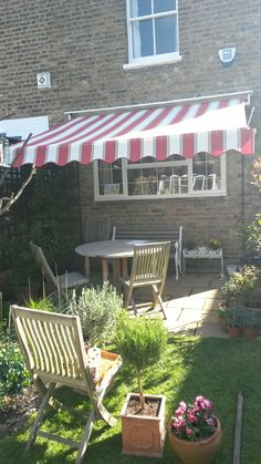 Traditional Victorian Awning for the home by Deans Blinds & Awnings