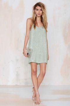 MInt Sequin Dress