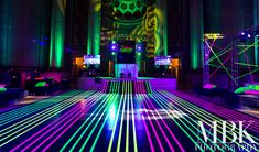 Neon Mitzvah Make your mark with neon everywhere! See the photos of how we transformed the Andrew Mellon Auditorium for with neon decor, lighting, and rentals. Bat Mitzvah Themes, Bat Mitzvah Party, Bar Mitzvah, Glow In Dark Party, Glow Stick Party, Glow Sticks, Dance Party Birthday, Neon Birthday, Birthday Parties