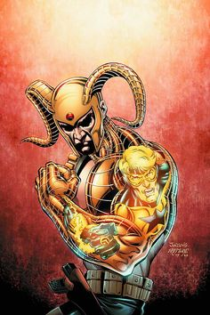 Dan Jurgens - Booster Gold and Magog