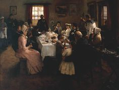 Stanhope Alexander Forbes, 'The Health of the Bride' 1889