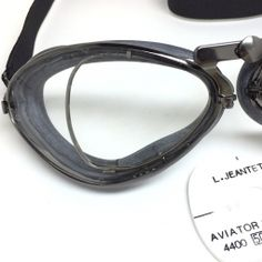 95f8dac7827 Aviator Goggles by Leon Jeantet Ref. 4400 Optical Goggles Motorcycle Goggles