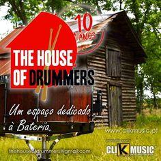 Já conhece o nosso novo parceiro?   The House Of Drummers   A casa dos bateristas é um espaço de desenvolvimento de conhecimento e partilha do mesmo. Um espaço dedicado à bateria!   Visite já em: https://ift.tt/2HxOOpz