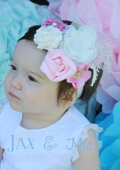 Royal Highness Vintage Baby Headband by JaxandMia on Etsy, $20.00