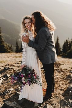 Fall elopement inspiration in the mountains | Image by Noelle Johnson