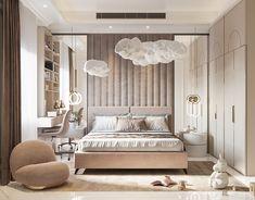 Rich Girl Bedroom, Master Suite Bedroom, Master Bedroom Interior, Room Design Bedroom, Home Room Design, Bedroom Designs, Modern Luxury Bedroom, Luxurious Bedrooms, Modern Apartment Decor