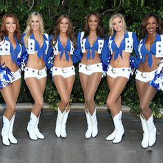 With a new reality series on CMT, and football season kicking off, six Dallas Cowboy Cheerleaders reveal their healthy workout routines and sexy secrets.