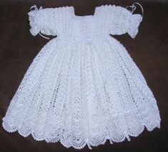 Crochet Christening Gown Pattern 34 Awesome Crochet Christening Gowns Free Patterns Images Crochet Crochet Christening Gown Pattern Christening Sets To Knit For Ba 11 Free Patterns Grandmothers. Crochet Christening Gown Pattern Free Easy To Crochet . Crochet Christening Patterns, Baby Dress Patterns, Crochet Patterns, Crochet Dress Girl, Crochet Baby Clothes, Crochet Dresses, Baby Christening Dress, Baptism Gown, Blessing Dress