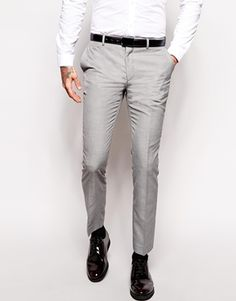 River+Island+Suit+Trousers+in+Slim+Fit