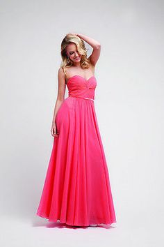 Strapless Long Floor Length Sweetheart Waist Band Prom Plus Size Ruffle Gown | eBay