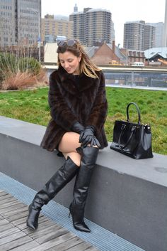 Over the knee boots - Gianvito Rossi?