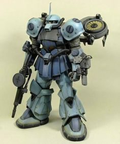 1/100 MS-07B Gouf Gundam Thunderbolt ver. Custom Build - Gundam Kits Collection News and Reviews