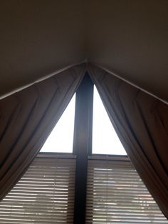 1000 Images About Gable Window Curtain On Pinterest