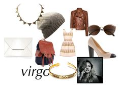 """""""virgo"""" by tabitha-escoe ❤ liked on Polyvore featuring MANGO, J.Crew, Will Leather Goods, BCBGMAXAZRIA, House of Harlow 1960 and Jens Pirate Booty"""