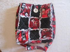 Betty Boop Inspired Cross body Bag  Hipster by morethanbearscrafts