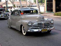 fleetline | ... galleries >> Uptown Whittier Car Show 2006 > 1948 Chevrolet Fleetline