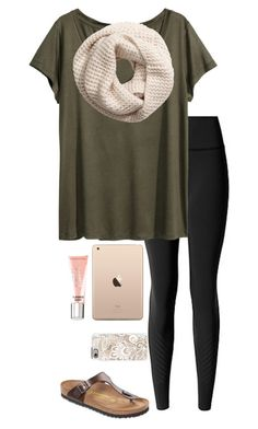 """""""Sorry I haven't been posting"""" by eadurbala08 ❤ liked on Polyvore featuring lululemon, H&M, Beauty Rush, Birkenstock and Casetify"""