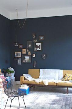 Easy DIY- Paint One Blue Wall - TrendSurvivor
