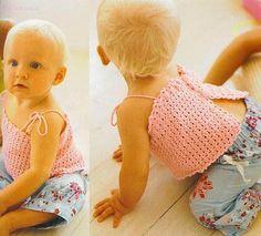 Todo para Crear ... : bikinis para nenas en crochet y mas