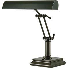 Mahogany Bronze Piano Lamp