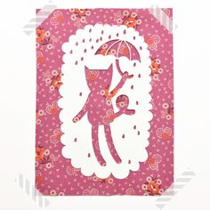 So Fofo - Cat- Paper Cut Out, $24.00 (http://www.sofofo.com.au/cat-paper-cut-out/)