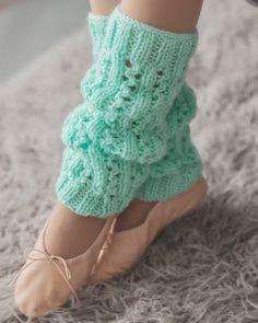 DIY: leg warmers #Knit