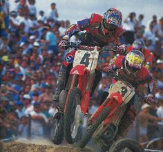 Doug Henry and Jeremy McGrath.  Two of the best.