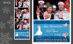 16HOL Have yourself a #nautical #Christmas with this sea themed graphic. #photobooth  imagecinema.com