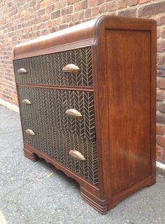Art Deco Herringbone waterfall dresser in North Brookline, Boston, MA, USA ~ Krrb