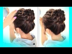 ★STARBURST BRAIDED BUN HAIRSTYLE | CUTE SUMMER BRAIDS HAIRSTYLES | MakeupWearables Hairstyles ★ Hair Tutorial on Thursdays Video | Beautylish