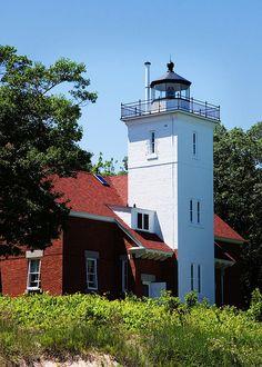 40 Mile Point Lighthouse; Presque Isle, MI