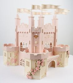Click through and FOLLOW this girl! Amazing paper crafts <3 Tara's Studio Jun 2013 castle img 20