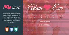 ilove v1.2.2  Love Story HTML Wedding Template