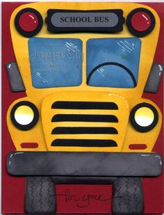 School Bus by jguyeby - Cards and Paper Crafts at Splitcoaststampers