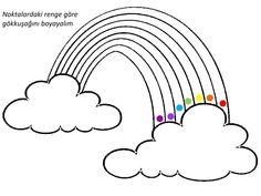 Bu sayfamızda okul öncesi gökkuşağı öğretimi ile ilgili çeşitli etkinlikler yer almaktadır.İnce motor becerilerini geliştirebilecek kesme ve boyama çalışmalarını da bulabilirsiniz.Aynı zamanda renk öğretimi ve şekil öğretimi gibi okul öncesi kazanımları da bulunmaktadır. Gökkuşağı çizgi çalışmaları Okul öncesi gökkuşağı kesme çalışması Gökkuşağı boyama çalışması Gökkuşağı renk çalışması Gökkuşağı geometrik şekil çalışması Okul öncesi gökkuşağı kartları Gökkuşağı puzzle gibi etkinliklerden…