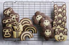株式会社誠文堂新光社のプレスリリース(2015年9月9日 11時10分)こんなクッキー見たことない!切っても切ってもかわいい絵柄がでてくる金太郎飴みたいなクッキーレシピ『みのたけ製菓のアイスボックスクッキー』