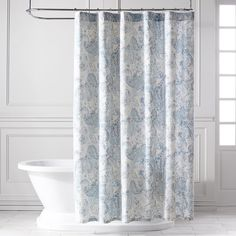 Product Image For Vera Wang Linear Stripe Shower Curtain 2 Out Of