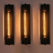 Led Indoor Wall Lamps Corridor E27 Retro Indoor Industrial Ceiling Light Vintage Wall Lamp Edison Fixtures Home Decoration Light Www Industrial Wall Lights Wall Lights Wall Lamp
