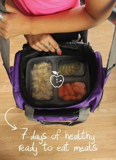 7 Days Of Healthy Meal Prep Ideas - Ready To Eat Meals and Protein On The Go With The Best Meal Containers - feature image