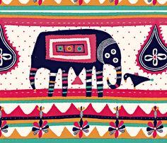 friends-ed fabric by chicca_besso (Francesca Besso) on Spoonflower - custom GIFT WRAP #Spoonflowerwrapper