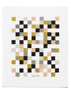 Checkered Poster by Garance Dore